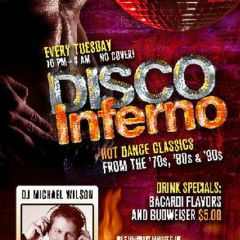 Click to see more about Disco Inferno Tuesdays