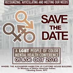 In My Mind: LGBT People of Color Mental Health Conference