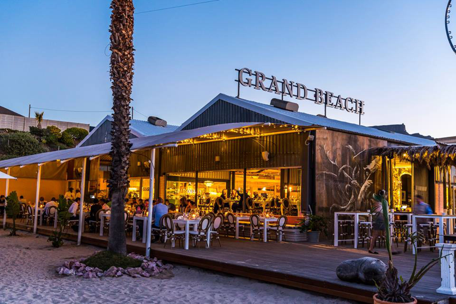 Grand Cafe And Beach Restaurant Cape Town