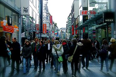 Cologne itinerary : A Shopping Extravaganza
