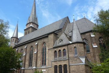 Cologne itinerary : Take it to Church
