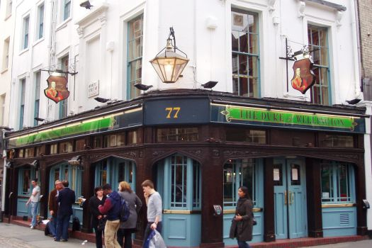 The Duke of Wellington, London