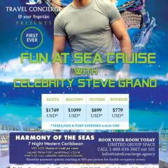 Click to see more about Fun at Sea Cruise with Steve Grand