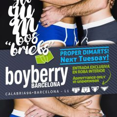 Click to see more about Gayumbos Underwear Day, Barcelona