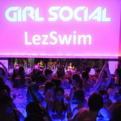 LezSwim with Pride!! ~ Happy Hour & Pool Party