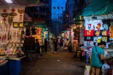 Hong Kong itinerary : A Street Market Ramble