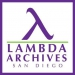 Lamda Archives of San Diego
