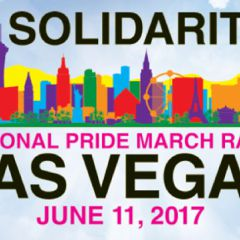 Las Vegas National Pride March Rally