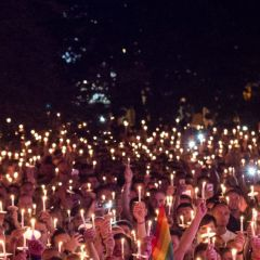 Click to see more about Manchester Pride Candlelit Vigil, Manchester