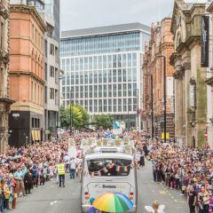 Click to see more about Manchester Pride Parade, Manchester