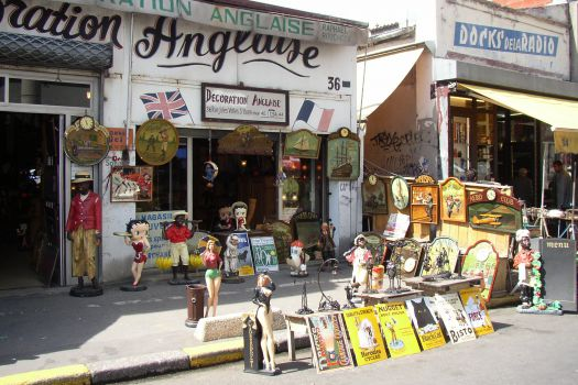Clignancourt Flea Market, Paris, France