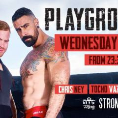 Playgrounds MrB at Strong, Wed 28 June, WorldPride Madrid 2017