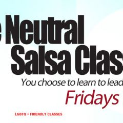 Role Neutral Salsa Classes