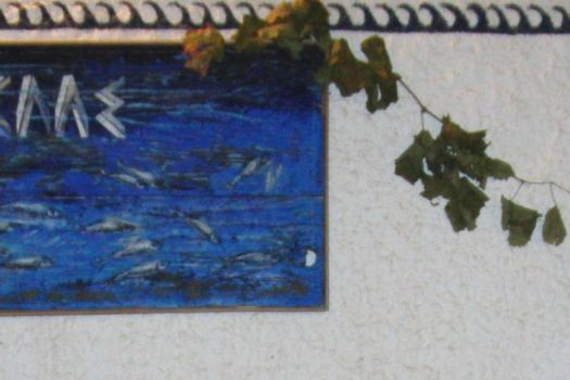 Blue Sardine, Skala Eressos