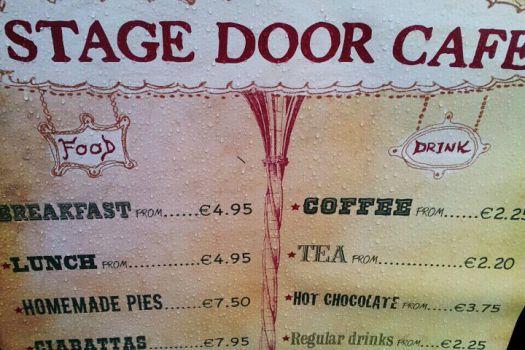 Stage Door Café, Dublin