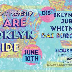 WE ARE Brooklyn Pride