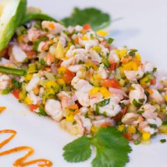 El Centro de la Raza's La Cocina Shrimp and Vegan Ceviche Making Class!