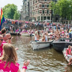 Click to see more about Canal Parade, Amsterdam