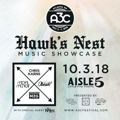 Hawk's Nest Music A3C Showcase: Chris Karns, Michal Menert, Obeah