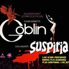 Claudio Simonetti's Goblin performing the live score to Suspiria
