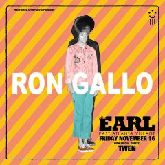Ron Gallo at The EARL