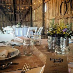 Farmily Dinner at Wrecking Barn Farm