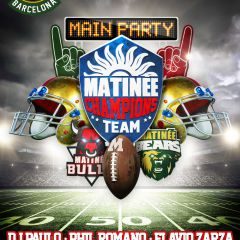 Matineé Champions Team Main Party