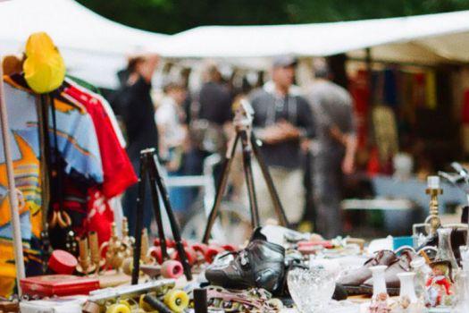 Flohmarkt im Mauerpark