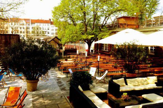 Golgatha Biergarten am Kreuzberg