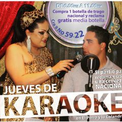 Click to see more about Jueves de Karaoke