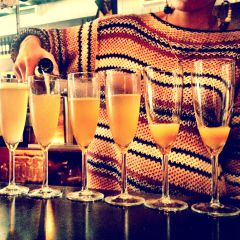 Sunday's Champagne Brunch