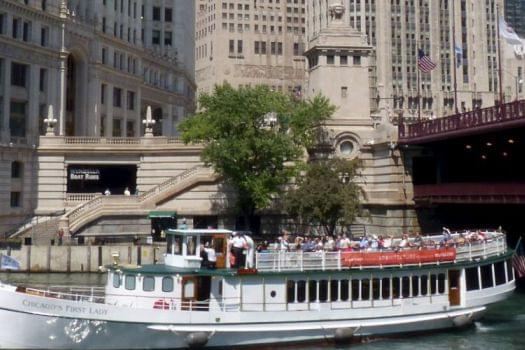 Chicago River Architecture Cruise