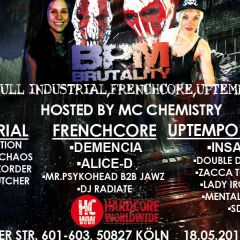 Click to see more about BPM Brutality Part One, Cologne