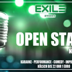 Exile presents: Open Stage Night / Karaoke
