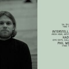 Click to see more about Time To: w/ Interstellar Funk, Hade & Phil Morris, Cologne