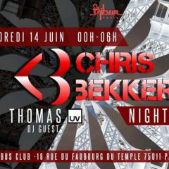 Click to see more about Chris Bekker Night #2, Cologne
