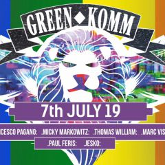 GREEN KOMM PRIDE Festival MAIN Afterhour powered by Naughty.