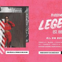 Tuesday¡s Legend// Eintritt frei [die ganze Nacht]