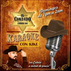 Click to see more about Noches de Karaoke con Kikeé