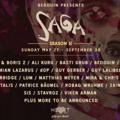 SAGA Closing Party with Bedouin, Adam Port, Lum, Guy Laliberté