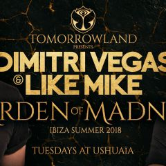 Click to see more about Tomorrowland Presents Dimitri Vegas & Like Mike, Ibiza