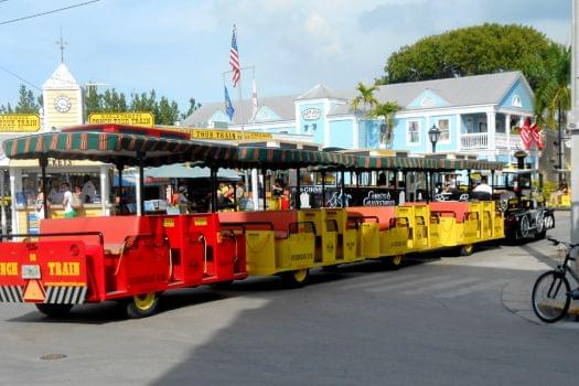 Conch Train Tour