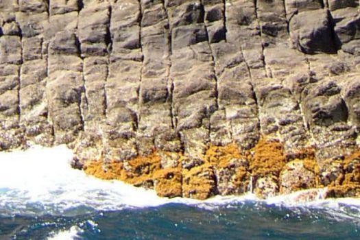 Los  Órganos Cliffs, La Gomera