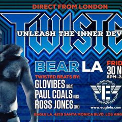 Twisted Bear L.A. Direct from London