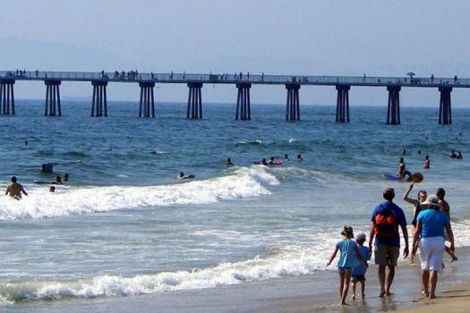 Hermosa Beach Strand