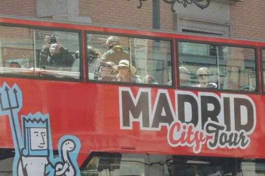 Madrid City Tour (Hop-On Hop-Off Bus)