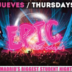 Click to see more about Epic Thursdays, Madrid