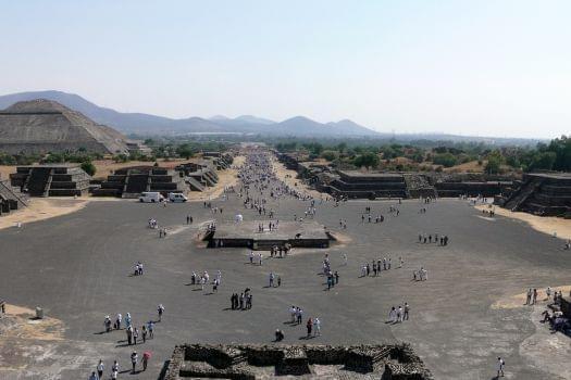 Teotihuacan Pyramids, Mexico City, Mexico