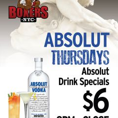 Absolut Thursday