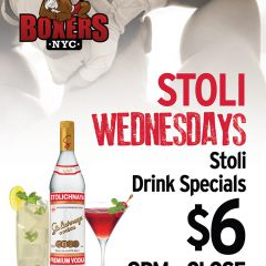 Click to see more about Stoli Wednesdays